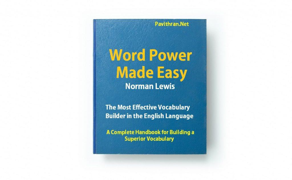 Word power made Easy book by Norman Lewis pdf download