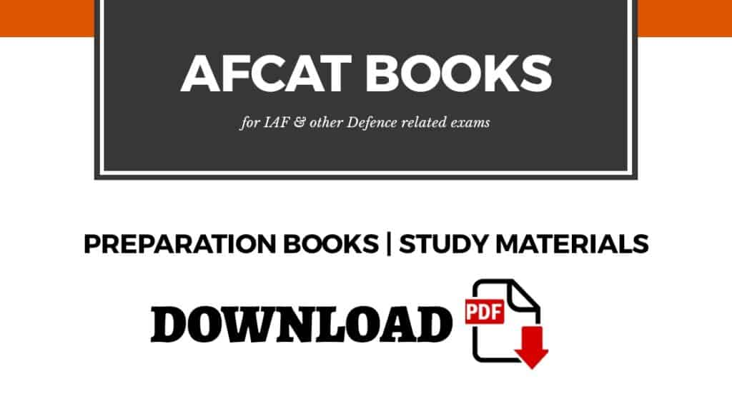 AFCAT Best Preparation Books & Study Materials PDF