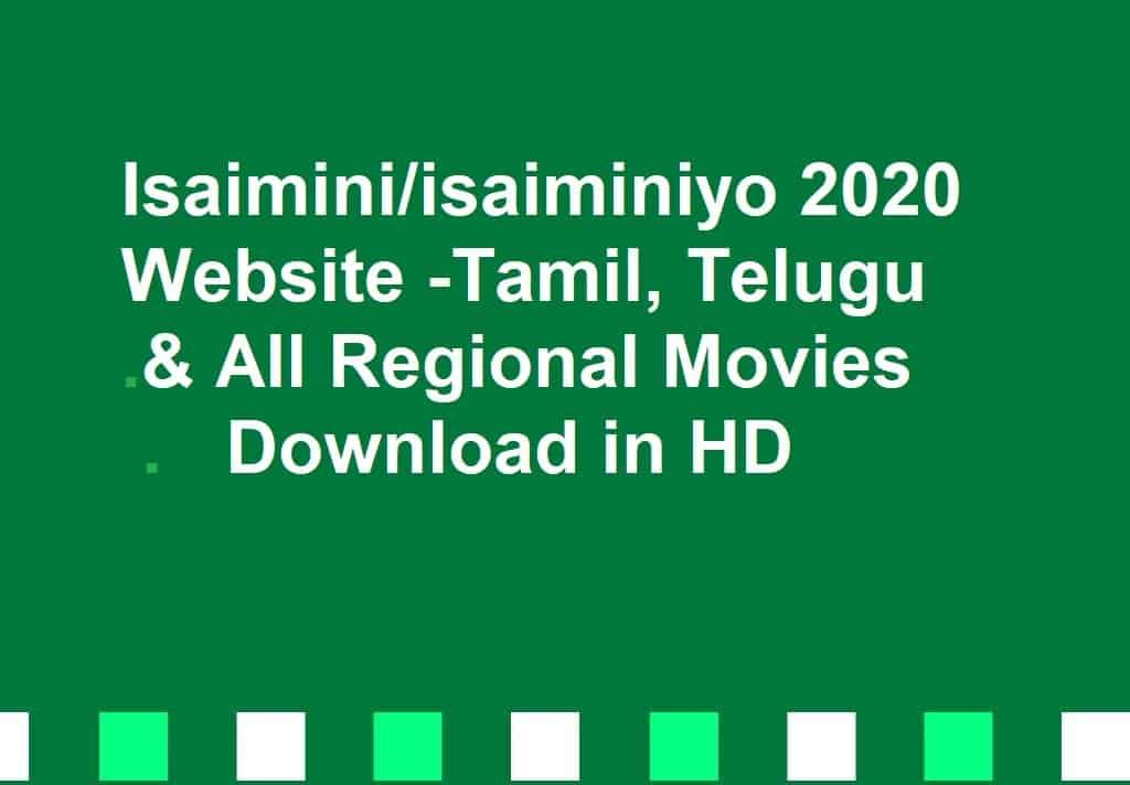 Isaimini tamil movie 2020