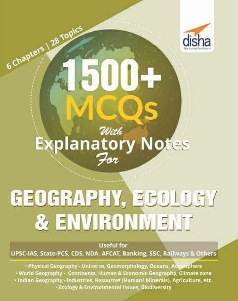 Disha Geography, Ecology & Environment MCQ Book pdf