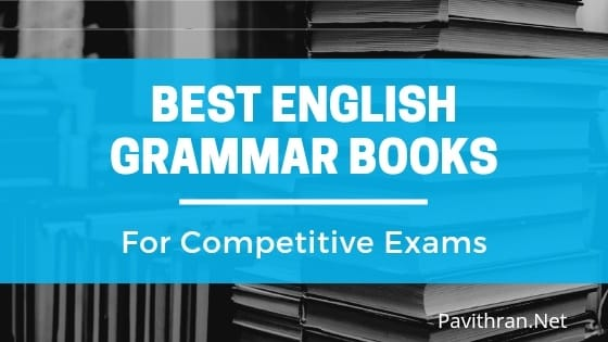 Best English Grammar Books for Competitive exams