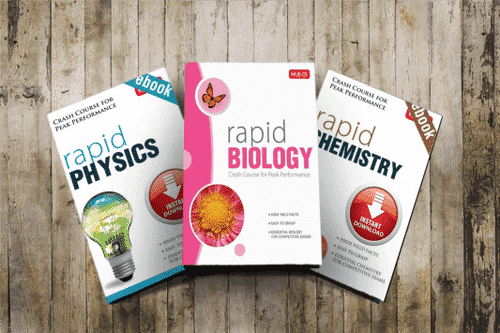 MTG Rapid Physics, Chemistry, Mathematics TextBooks for IIT-JEE Mains PDF