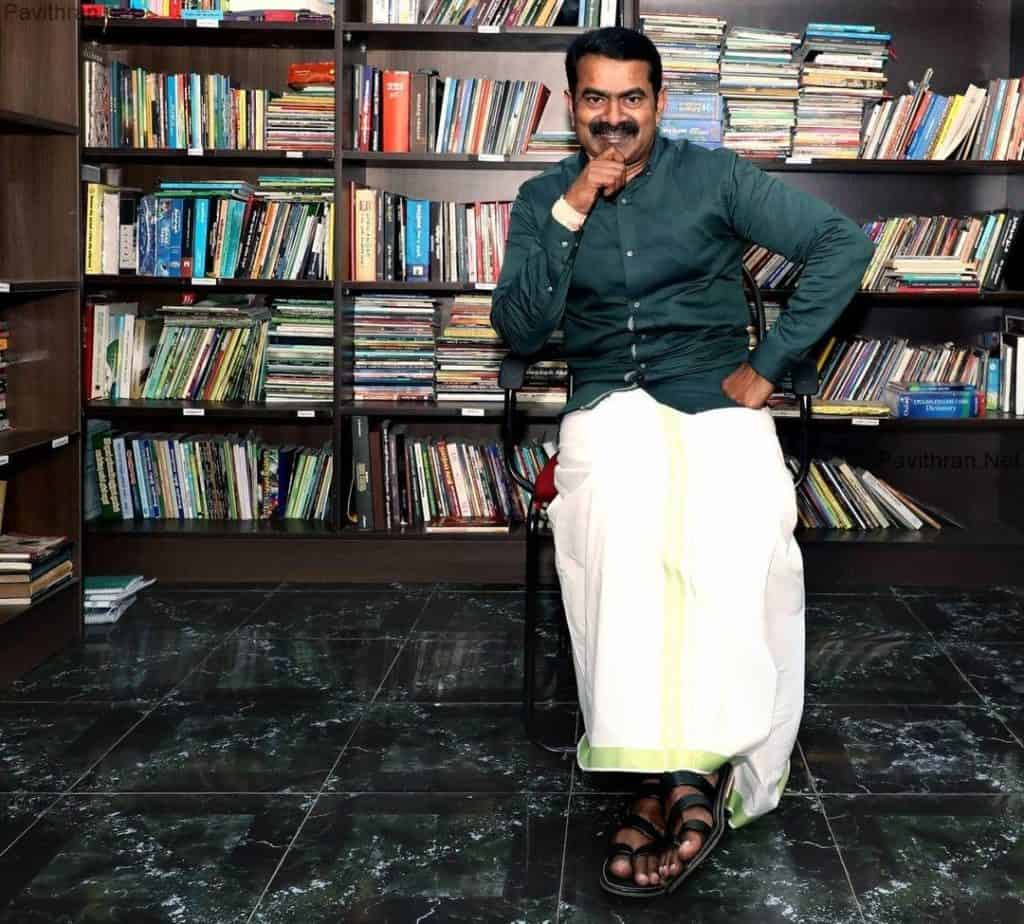 Politician Seeman NTK Leader Images & Pictures