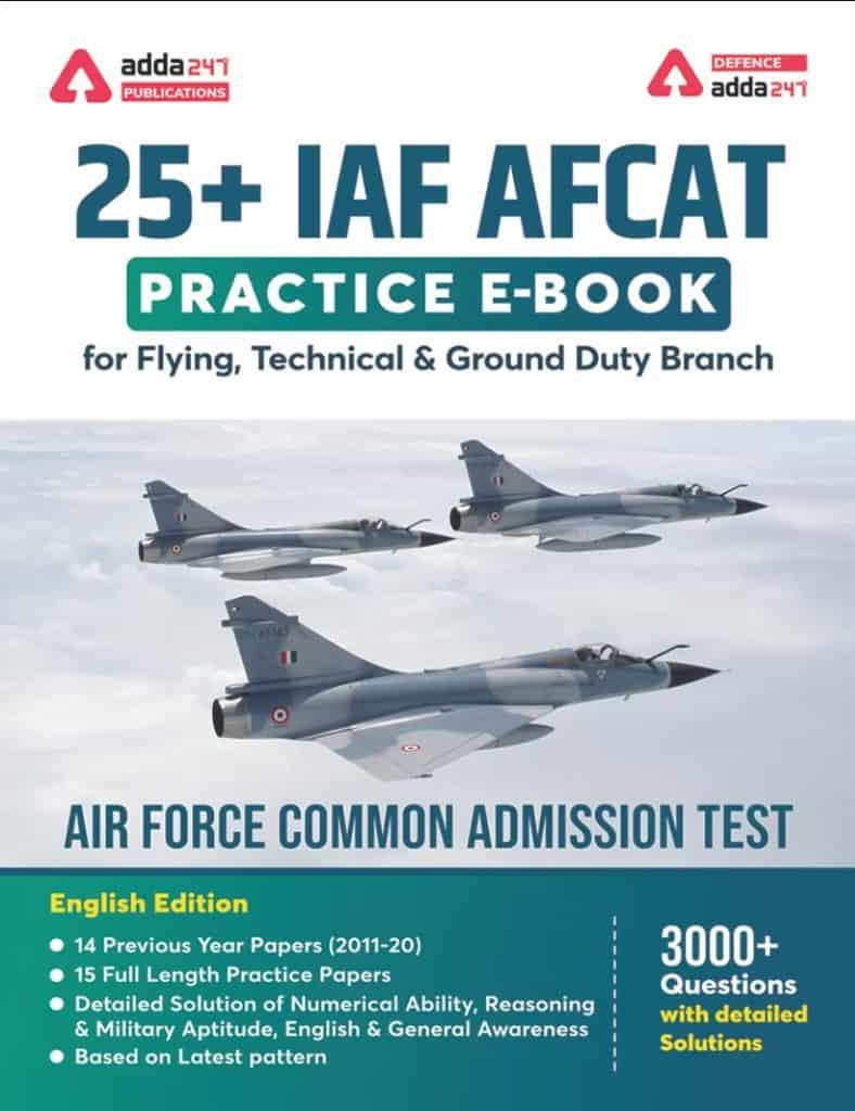 25+ IAF AFCAT Practice E-Book PDF