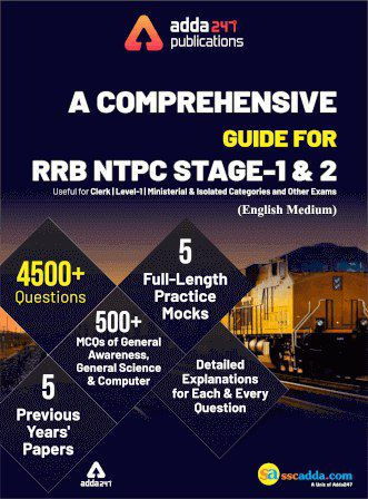 A Comprehensive Guide for RRB NTPC Stage 1 & 2 PDF Download