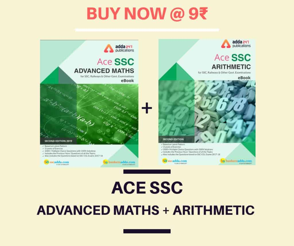 Ace SSC Advanced Maths + Arithmetic Book Buy