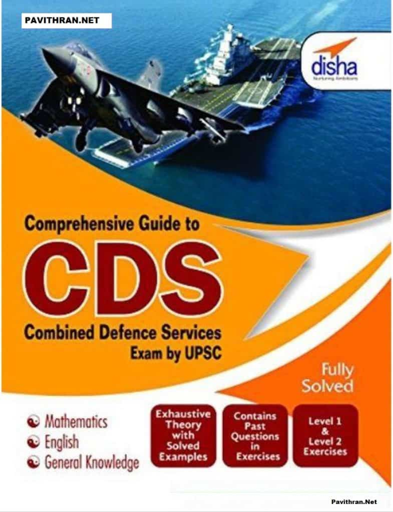 Disha CDS Previous Year Solved Papers PDF