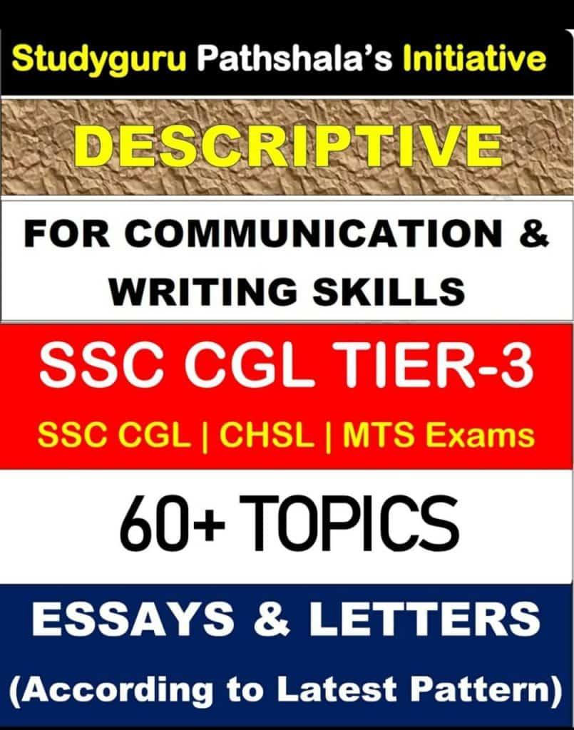 Descriptive for Communication & Writing Skills Essays & Letters PDF