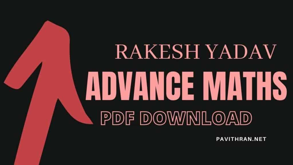 Rakesh Yadav Advance Maths PDF Download
