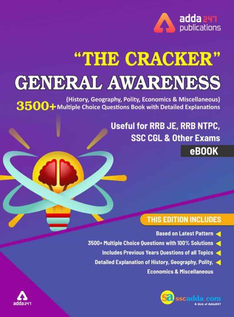The Cracker General Awareness MCQ PDF