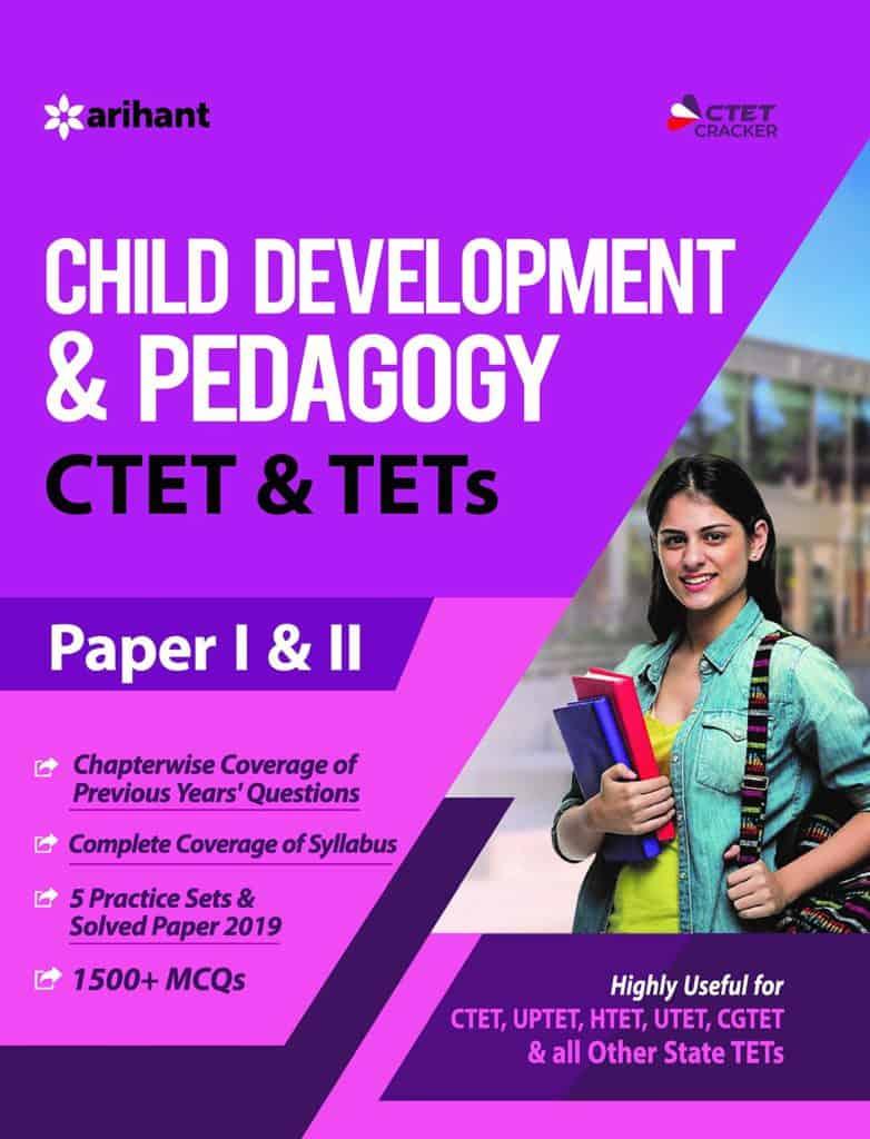 Arihant CTET/TET Child Development & Pedagogy Paper1 & 2 PDF