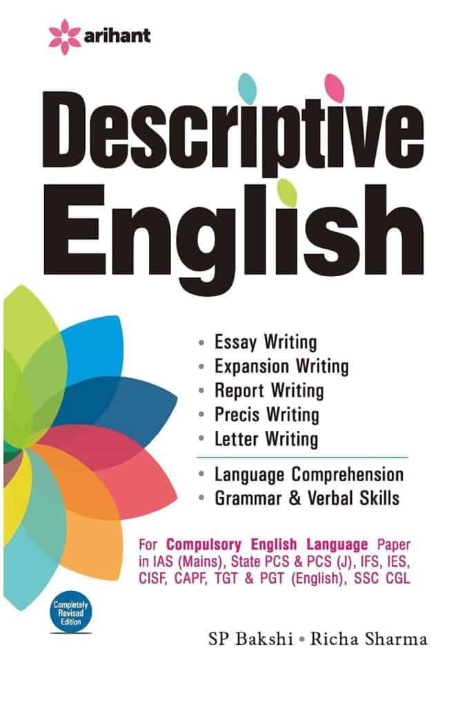 Descriptive English by SP Bakshi PDF Download