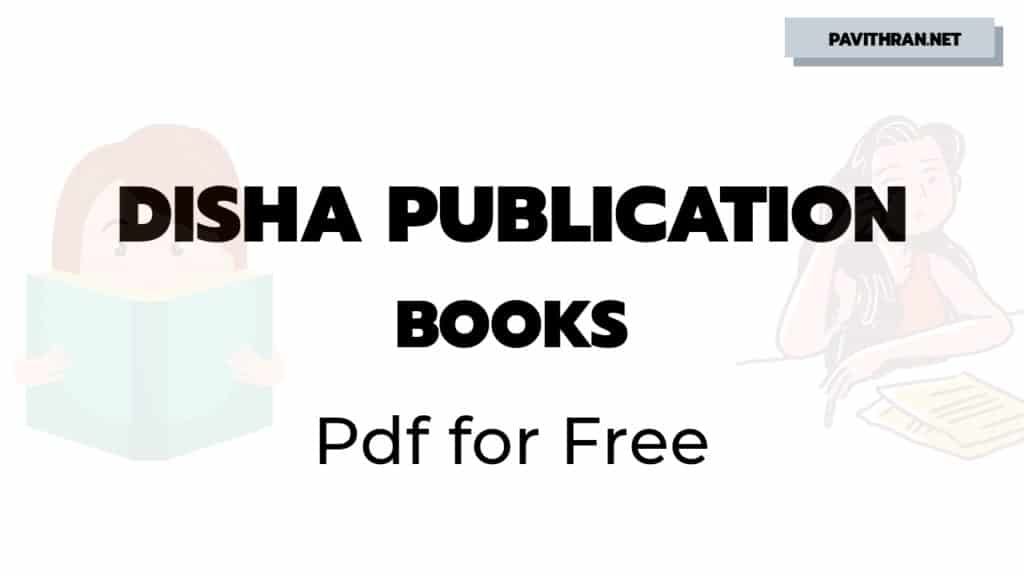 Disha Publication Books PDF for Free