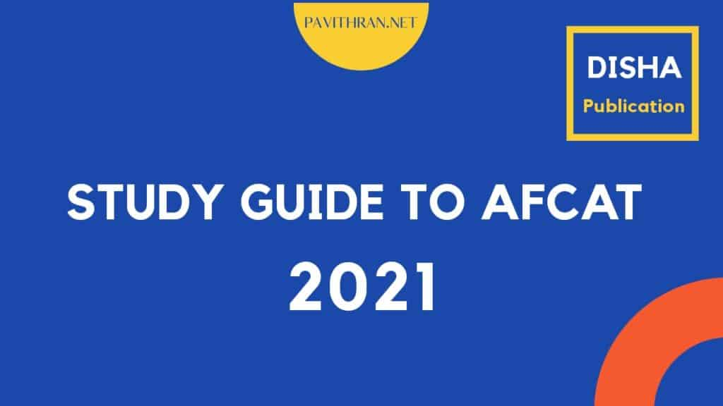 Disha Study Guide to AFCAT 2021 PDF