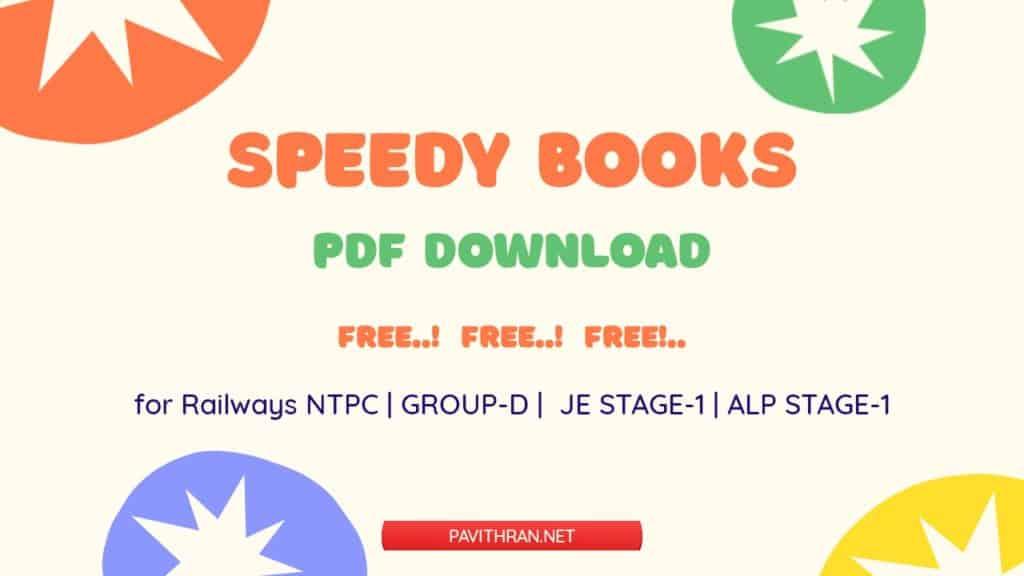 Speedy Books PDF Download for Free