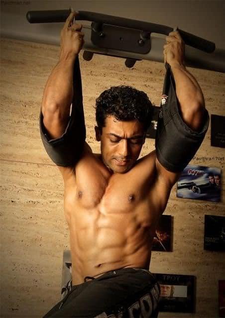 Surya Six Pack Photos & Workout Images