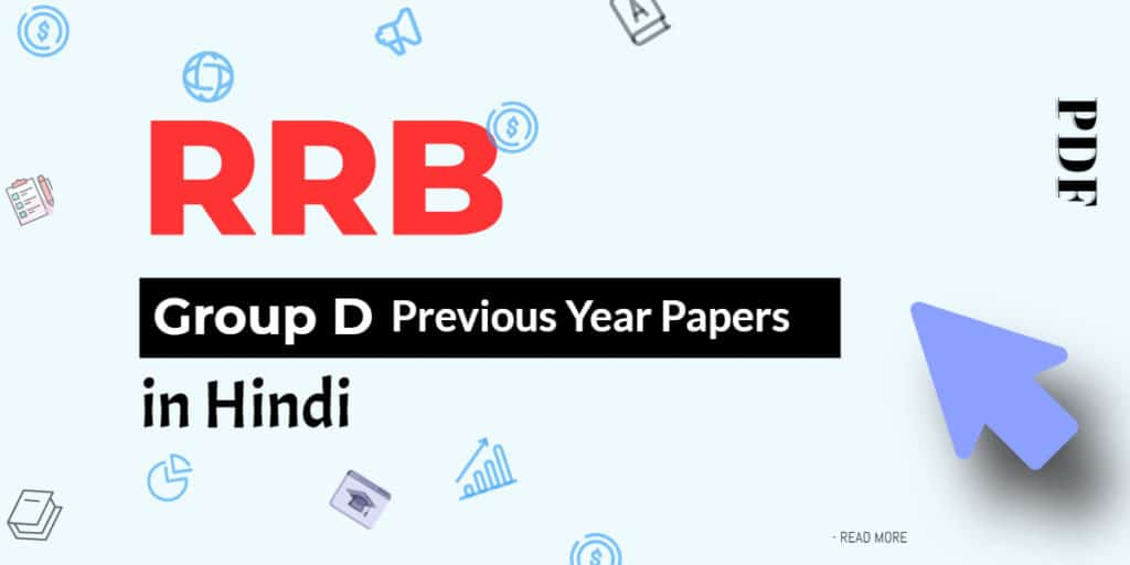 RRB Group D Previous Year Paper in Hindi PDF