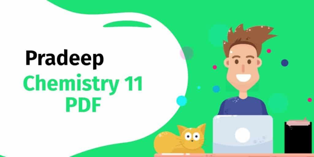 Pradeep Chemistry 11 PDF