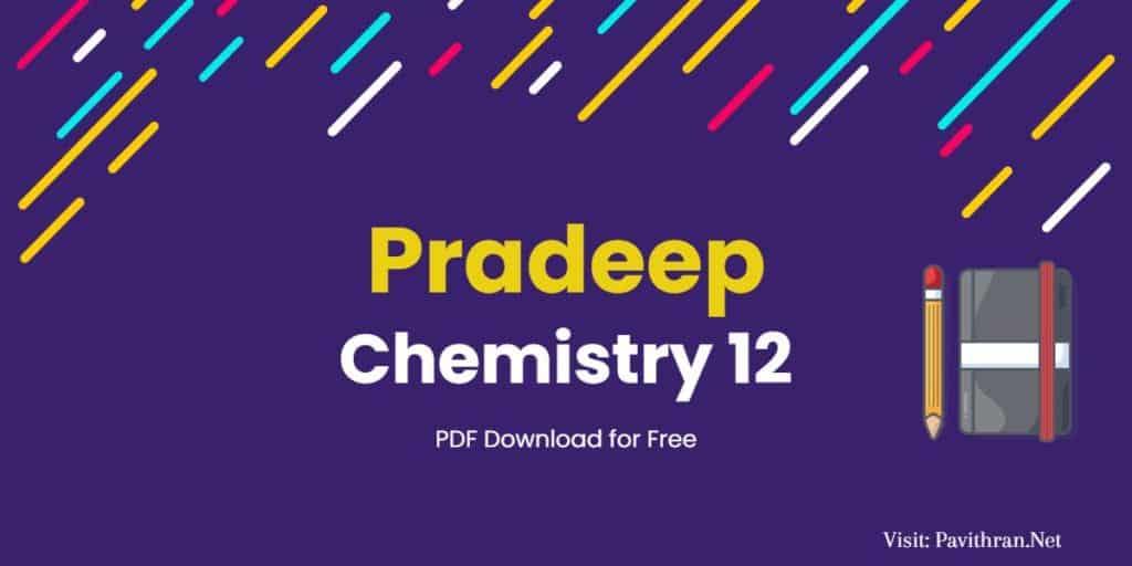 Pradeep Chemistry 12 PDF