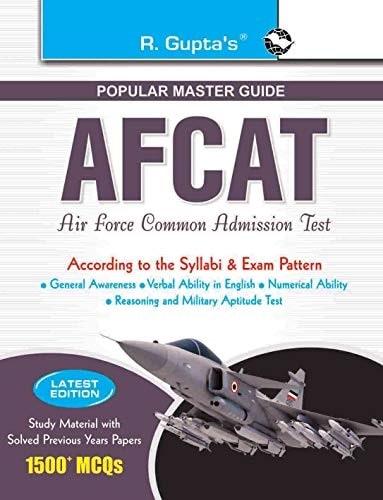 R Gupta AFCAT Exam Master Guide Book PDF