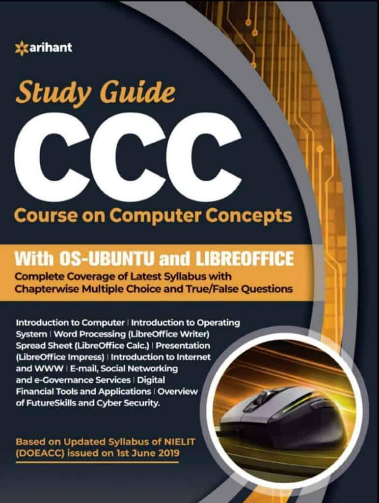 Arihant Study Guide CCC Book PDF