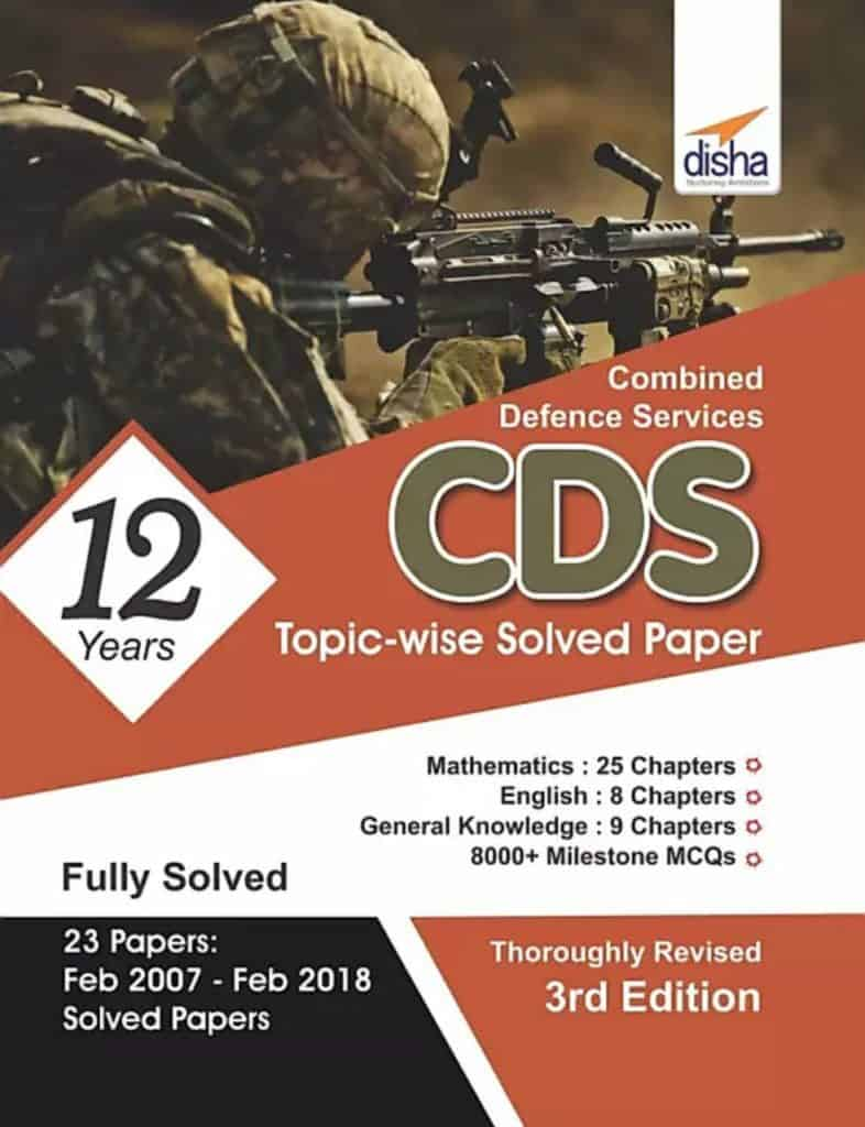 Disha CDS Topic-wise Solved Papers