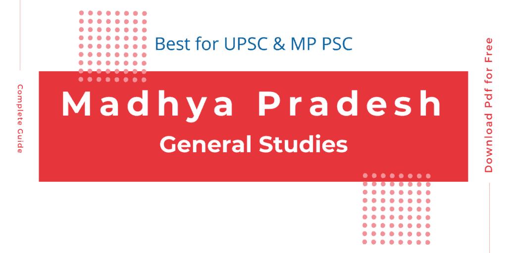 Madhya Pradesh General Studies PDF