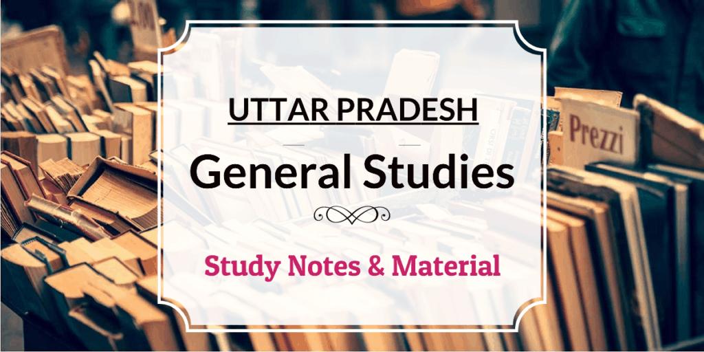 Uttar Pradesh General Studies PDF