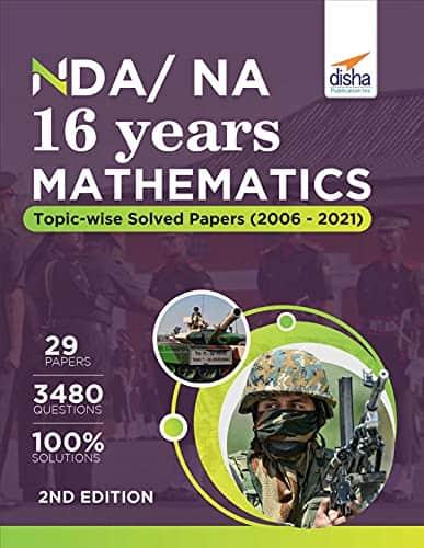 Disha NDA,NA Mathematics 16 Years(2006-2021) PDF