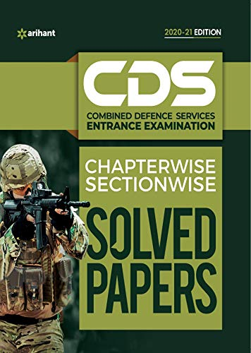 Arihant CDS Solved Papers Sectionwise Chapterwise PDF